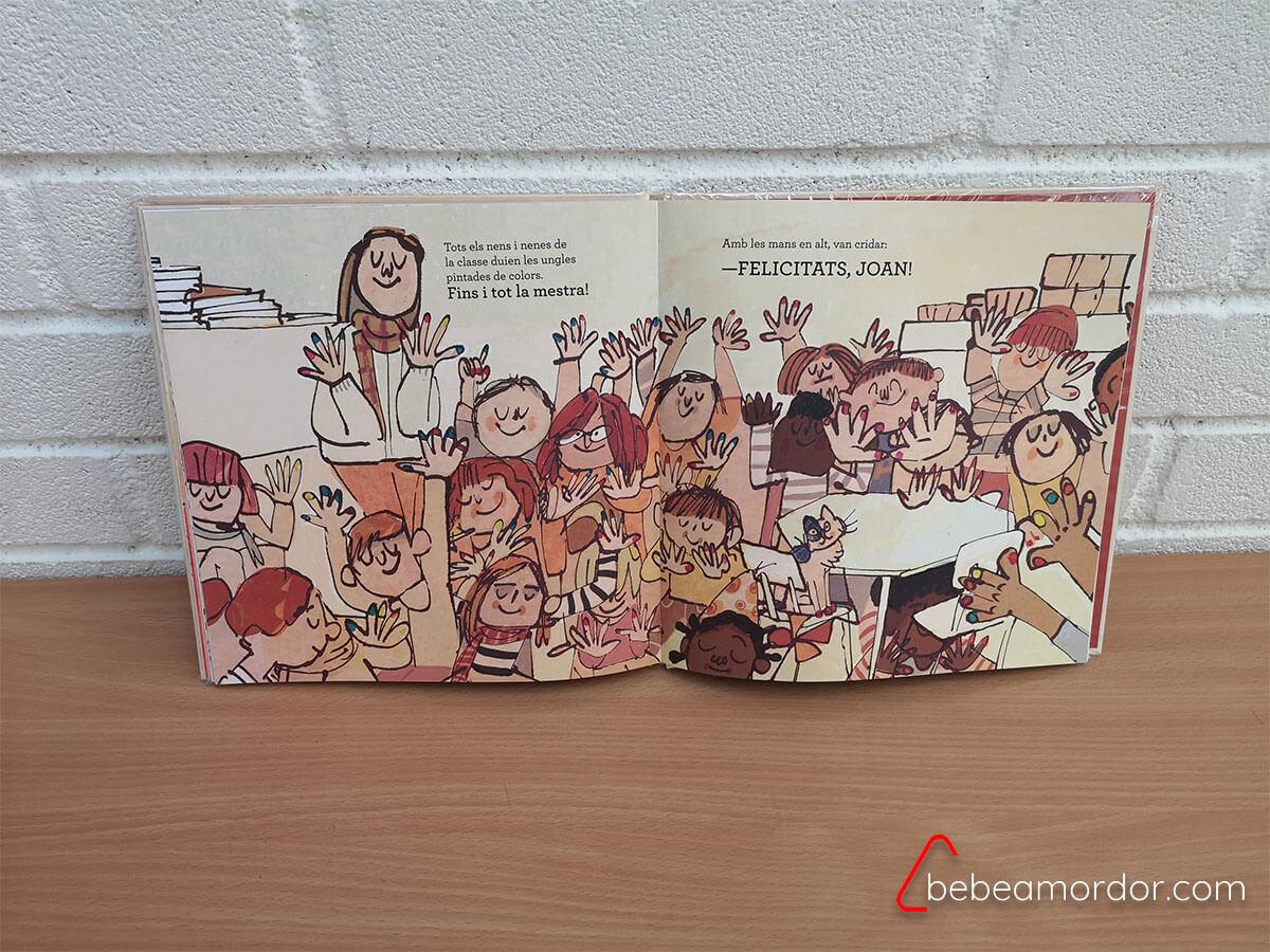 Vivan las uñas de colores libro estereotipos genero