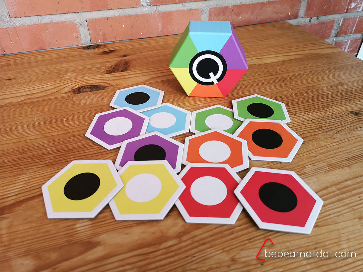 q memory componentes juego