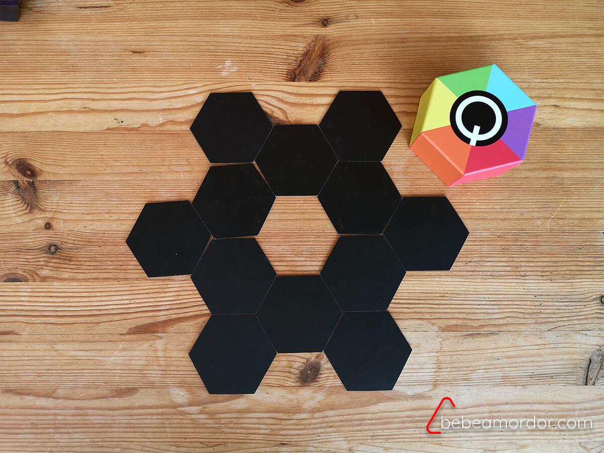 q memory caja juego de mesa