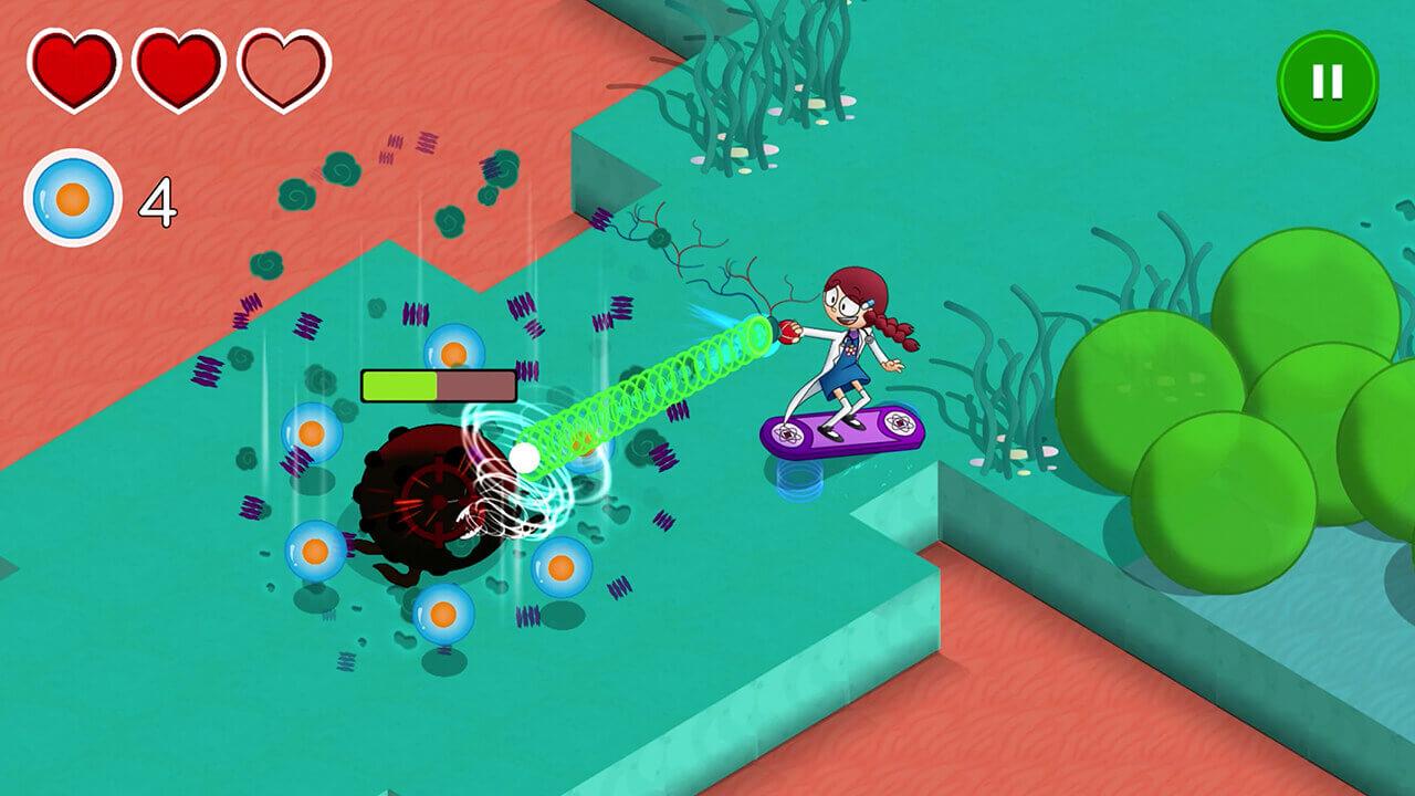 Bodyquest videojuego educativo