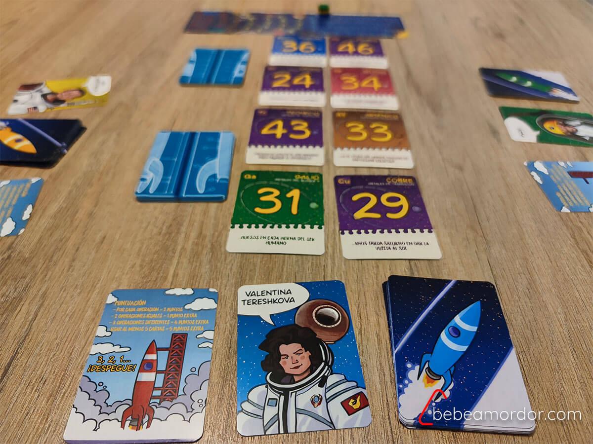como se juega cohetes juego de mesa