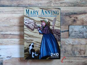 portada caja científicos Mary Anning
