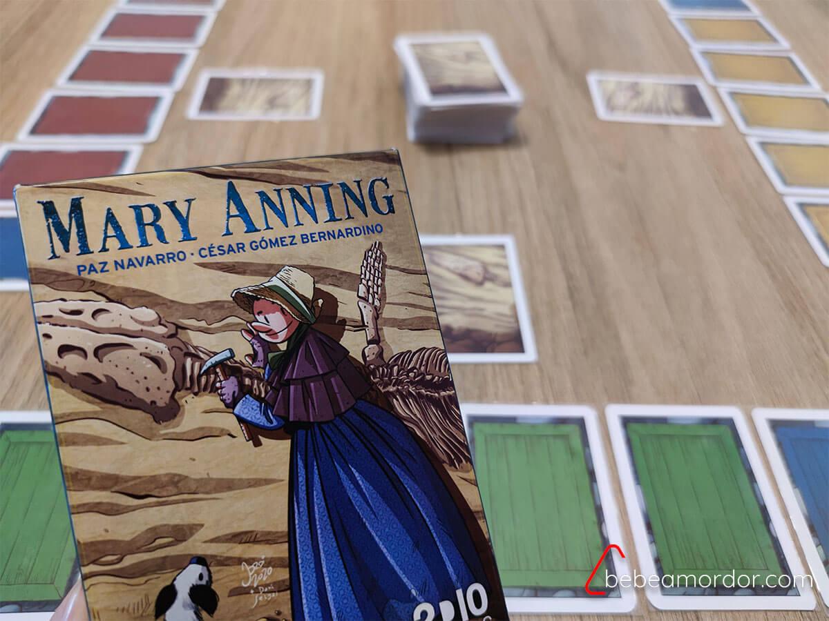 juego de mesa Mary Anning