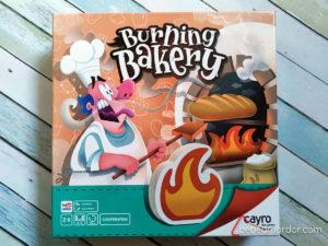 portada Burning Bakery