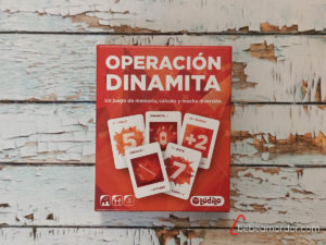 Portada caja Operación Dinamita.