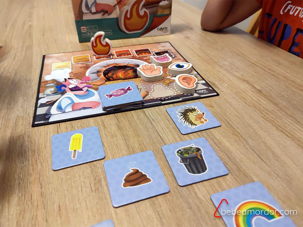 juego de mesa Burning Bakery