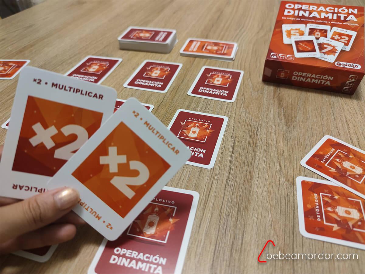 preparación juego matemáticas